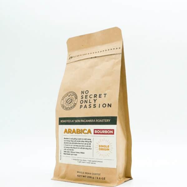 cà phê gói bourbon 250gr