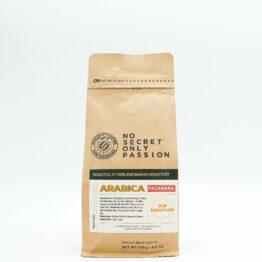 gói cà phê pacamara 250gr