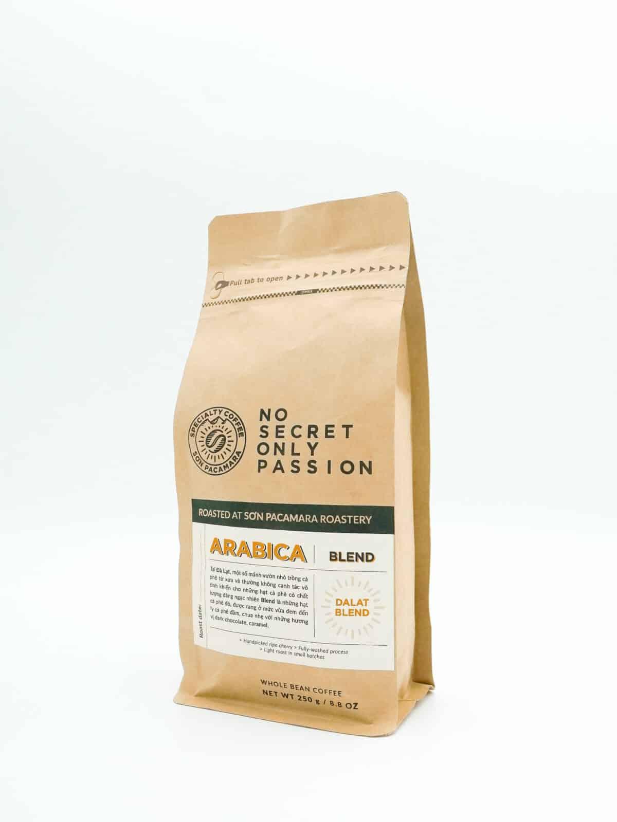 gói cà phê Blend 250gr