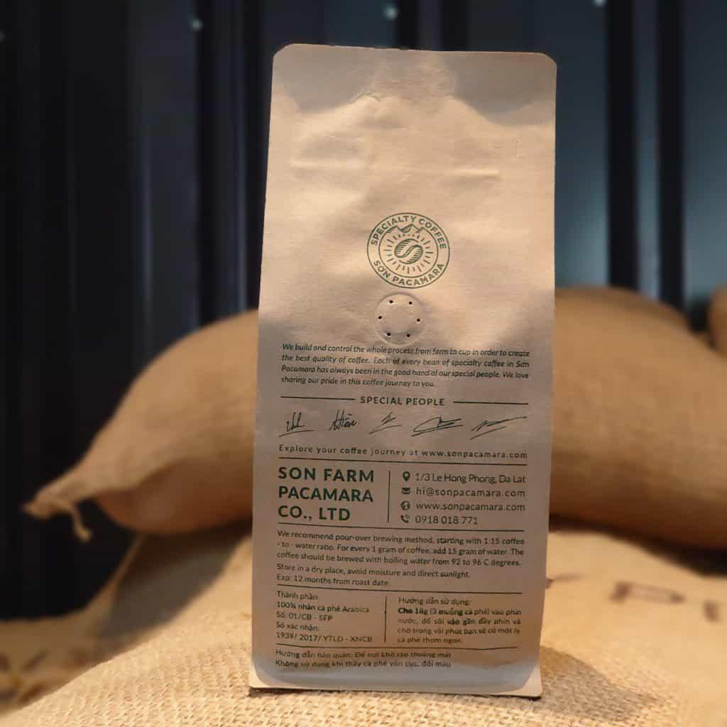 Gói cà phê 250gr