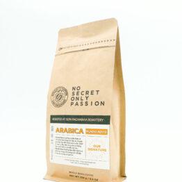 gói cà phê mundo novo 250gr góc nghiêng